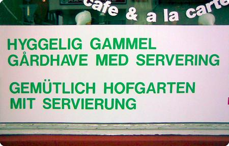 Dänische Gastlichkeit