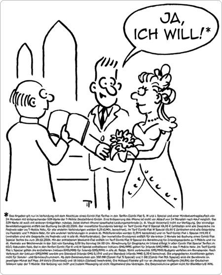 Hochzeitsfußnote