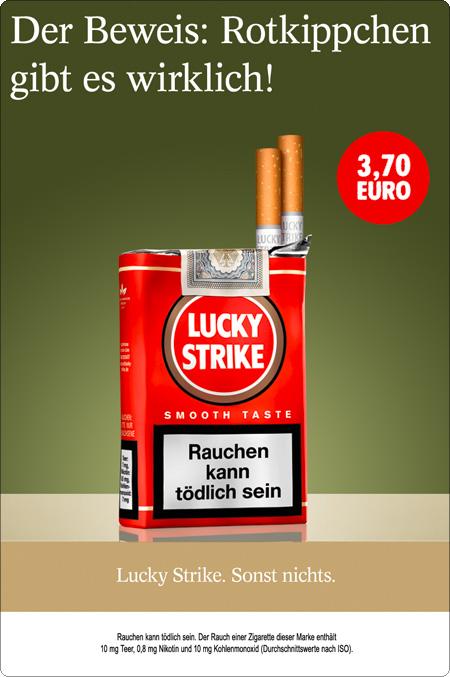 Lucky Strike Kalauer