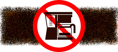 No Coffee Machine